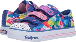 SKECHERS KIDS Twinkle Toes: Shuffles 10846L Lights (Little Kid/Big Kid)