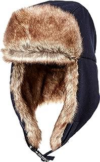 Amazon Essentials Men's Trapper Hat with Faux Fur