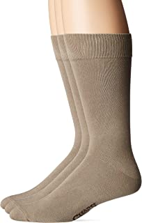 CHAPS mens Solid Supersoft Socks 3 Pair