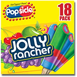 Popsicle Ice Pops, Jolly Rancher, 18 ct