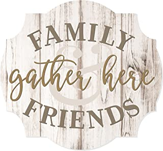 Best family and friends gather here wood sign Reviews