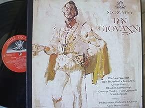MOZART- DON GIOVANNI- 4 LP -WAECHTER-SUTHERLAND-ALVA- GIULINI
