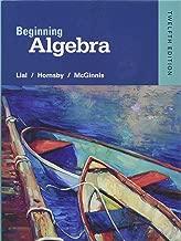 beginning algebra lial 12th edition