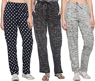 Shaun Women's Cotton Track Pants - Pack of 3