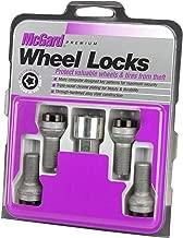 McGard 28318 Chrome/Black Bolt Style Radius Seat Lock Bolt Set
