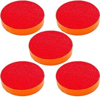 10 x 180 mm Klett Polierschwamm Schleifschwamm Autolack Polierpad für Polierer