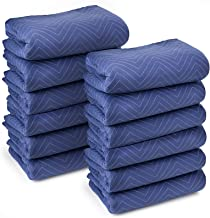 Sure-Max 12 Moving & Packing Blankets - Deluxe Pro - 80