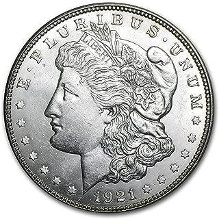 1921 D Morgan Dollar BU $1 Brilliant Uncirculated