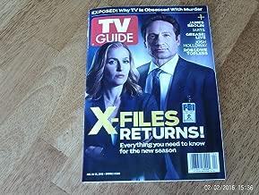 TV Guide (January 18-31, 2016 - X-Files Returns)