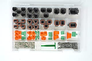 Sponsored Ad - DEUTSCH 191 PCS DT GRAY CONNECTOR KIT, 14-16AWG SOLID BARREL CONTACTS (MADE IN USA) photo