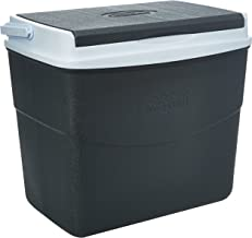 صندوق تبريد بلاستيك للرحلات يحتفظ بالبرودة، وصندوق حفظ الثلج