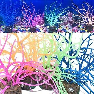 Danmu 1Pc of Polyresin Coral Ornaments Aquarium Coral Decor for Fish Tank Aquarium Decoration 6 1//5 x 2 9//10 x 6 1//10
