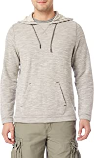 Men's Long Sleeve French Terry Pullover Hoodie Sweatshirt
