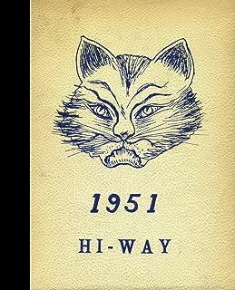 (Reprint) 1951 Yearbook: Troutman High School, Troutman, North Carolina