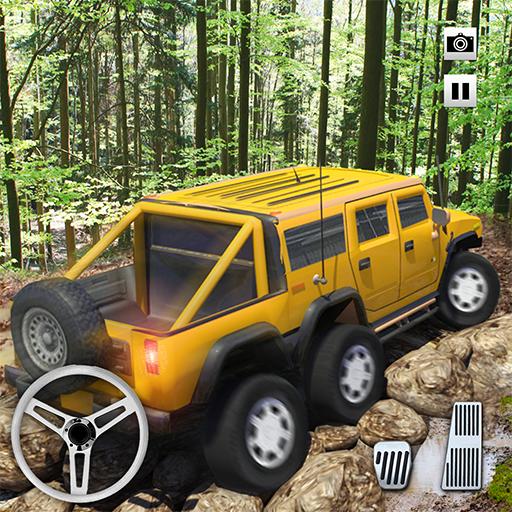 Fuera del camino Mud-Runner Camión de remolque Simulador 2018 Gira neumáticos Juegos Gratis para niños