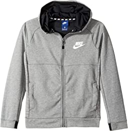 Sportswear Advance 15 Full Zip Hoodie (Little Kids/Big Kids)