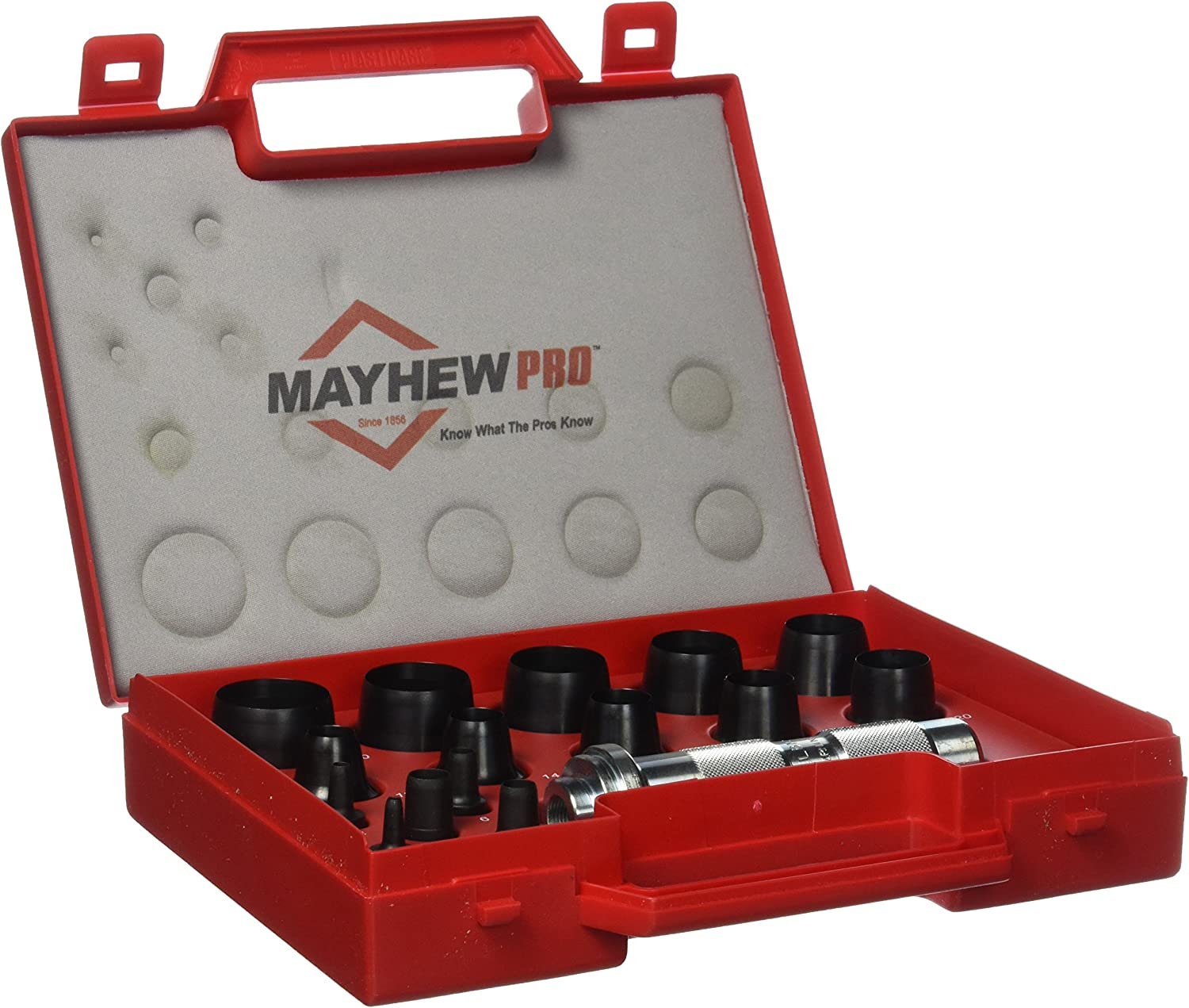 Mayhew Pro 66004 3 mm Fashion to Max 57% OFF Punch Metric 30 Set Hollow