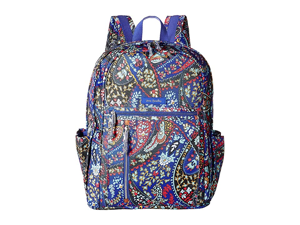 Vera Bradley Lighten Up Grand Backpack (Petite Paisley) Backpack Bags