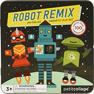 Wild & Wolf Robot Remix On-The-Go Play Set Magnetic Playset