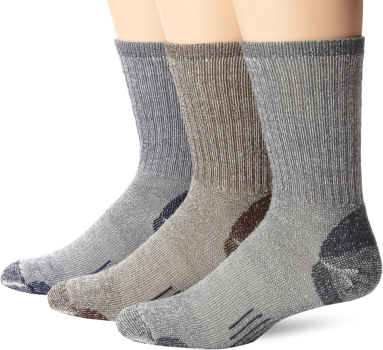 3 pairs Omniwool Merino Wool Hiker Socks Size M Made in USA