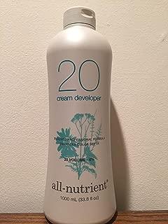 All-Nutrient 20 Volume Cream Developer 33.8oz