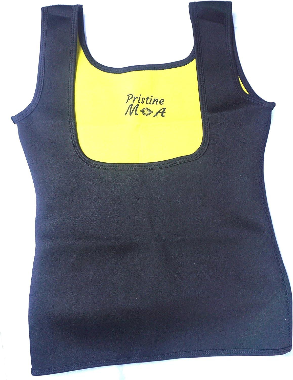 b16321034ad4 Pristine MOA Women Slimming Vest Tummy Control Black and Yellow ...