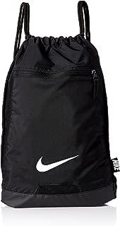 Nike BA5256-010: Mens Black/Black/White Alpha Gym Sack (OS)
