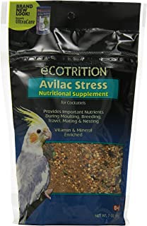 Ecotrition Avilac Stress Nutritional Supplement For Cockatiels, 7 Ounces (C570)