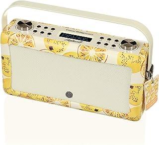 VQ Hepburn Mk II DAB & DAB+ Digital Radio with FM, Bluetooth & Alarm Clock – Emma Bridgewater Marmalade