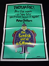 THE FIENDISH PLOT OF DR. FU MANCHU 1980 PETER SELLERS 1 SHEET MINT UNUSED!