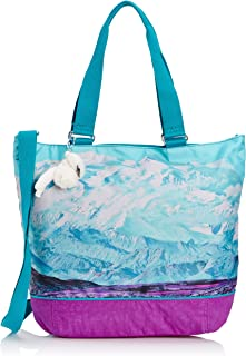 Women's Shopper Combo Shoulder Bag K12272A38 Ski Print