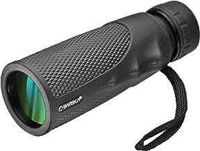 BARSKA New 10x40 mm Waterproof Fogproof Monocular Scope for Bird Watching/Hunting/Camping/Hiking/Golf/Concert/Surveillance