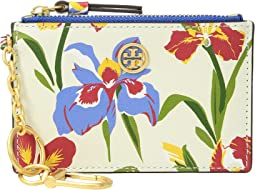 Tory Burch - Robinson Floral Card Case Key Fob