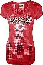 NCAA Georgia Bulldogs Women's Championship Tunic Tee, Red