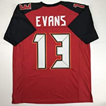 Unsigned Mike Evans Tampa Bay Red Custom Stitched Football Jersey Size XL New No Brands/Logos