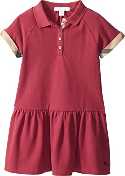 Burberry Kids - Cali Pique Dress (Little Kids/Big Kids)