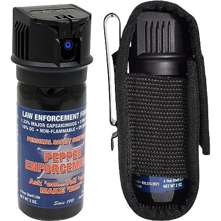 Parte Superior Abierta Estuche de Spray Tejido de Canasta Estuche de Cuero para Recipiente MK3 Horypt Soporte de Spray de Pimienta