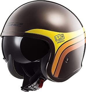 LS2 Helmets Motorcycle & Powersports Helmet's Open Face Spitfire Sunrise Medium