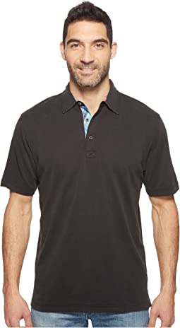 F6 Short Sleeve Three-Button Shirt