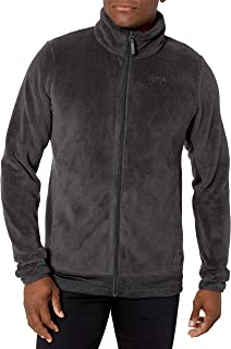 Helly Hansen Men's Feather Lightweight Full Zip 2-Sided Pile Fleece Jacket, 980 Ebony, XX-Large