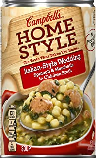 Campbell's Homestyle Italian-Style Wedding Soup, 18.6 oz. (Pack of 12)