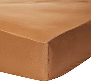 iBed Home 2724569752177 Microfiber, 3PC King Fitted Sheet Set, Light Brown - 200x200+30cm