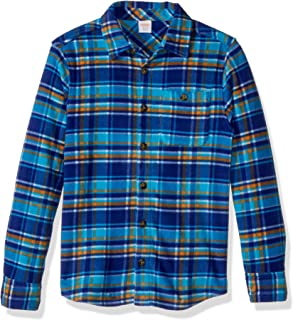 Gymboree Boys' Long Sleeve Polar Fleece Knit Shirt