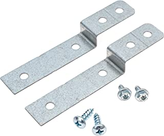 Dishwasher Side Mount Bracket Kit - Compare to DWBRACKIT1 - Electrolux and Frigid Air -Compatible - 2 Brackets and 4 Screws Included - By Impresa Products