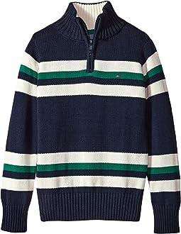 Tommy Hilfiger Kids - Leon 1/2 Zip Sweater (Toddler)