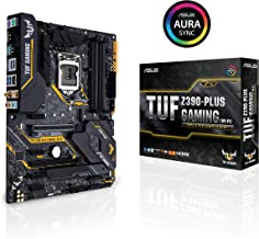 ASUS TUF Z390-Plus Gaming (Wi-Fi) LGA1151 (انتل الجيل الثامن والتاسع) DDR4 DP HDMI M.2 Z390 ATX Motherboard 802.11ac Wifi USB 3.1 Gen2 TUF Z390-Plus Gaming (Wi-Fi)