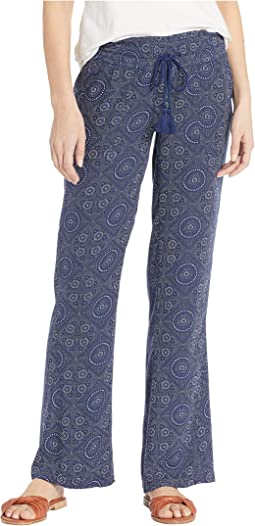 Oceanside Pants Printed