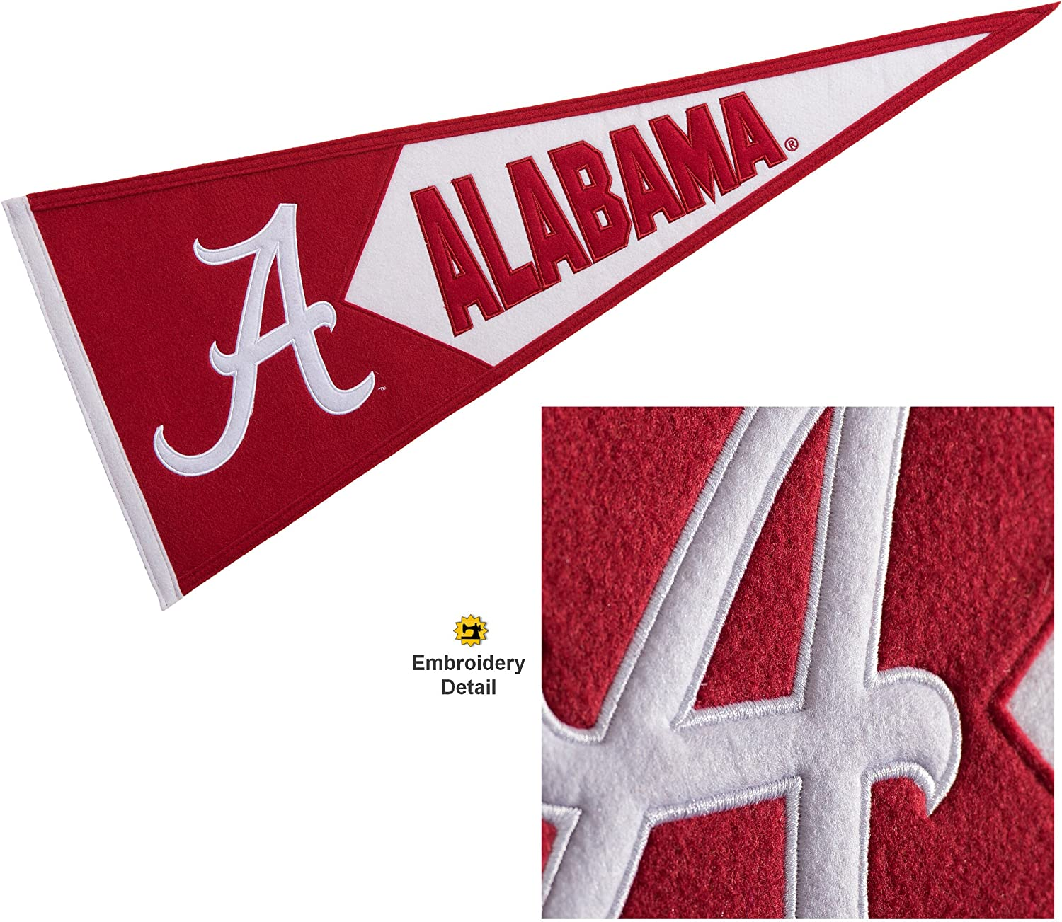 Winning Streak Alabama Crimson Tide Wool Embroidered and Sewn Pennant