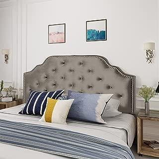 Best grey headboard with black furniture Reviews