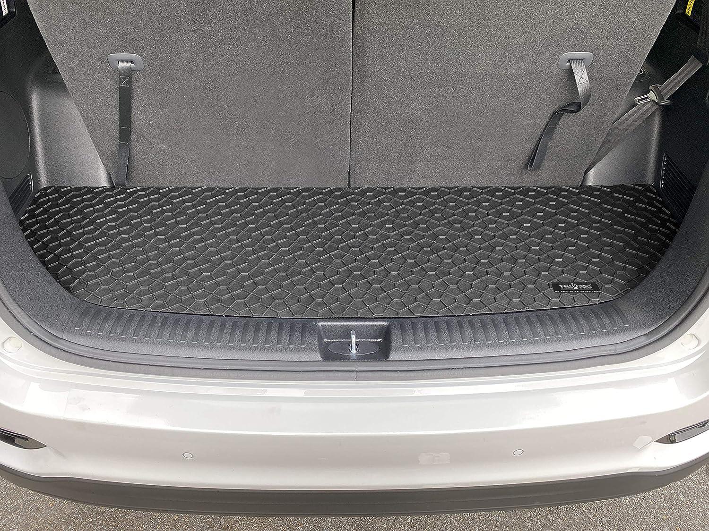 7 Seat All Weather Anti-Slip Black Rubber Made in USA Accessories for 2016 2017 2018 2019 2020 Kia Sorento SUV YelloPro Auto Custom fit Heavy Duty Floor Mats /& 3rd Row